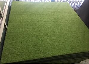 ขายพรมซ้อมกอล์ฟขนาด 1.5 เมตร X1.5เมตร หนารวม32มม 4000 บาท