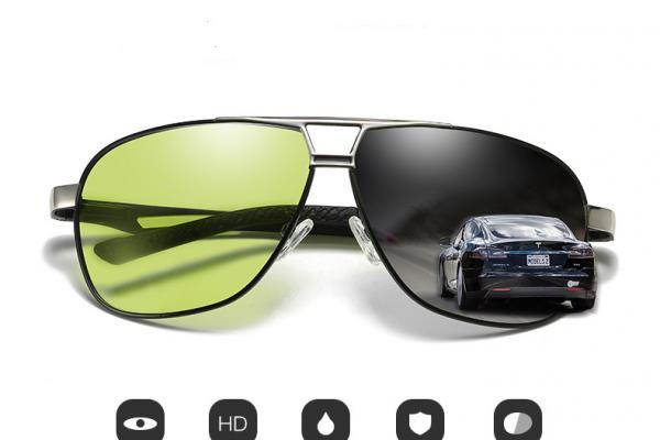แว่นกันแดด Photochromic Lenses model 8521BS2