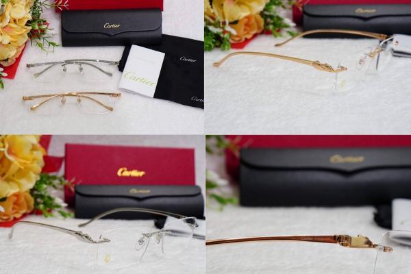กรอบแว่นตา Cartier Thaitamium สวยหรู